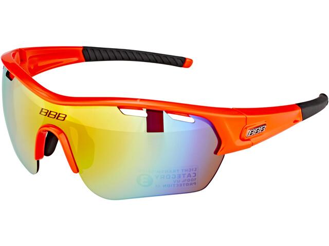 BBB Select XL BSG-55XL Sport Glasses orange gloss